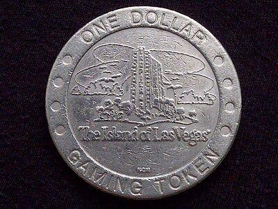 "$1 SLOT GAMING TOKEN -- TROPICANA CASINO -- ISLAND OF LAS VEGAS -- ""OBSOLETE"""
