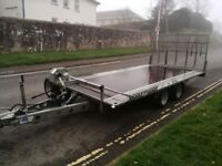 Ifor Williams tilting flat bed TB4021-302 (not LM126 LM146 LM166)