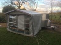 Eriba Pan Familia lightweight caravan at 690kg 2 birth