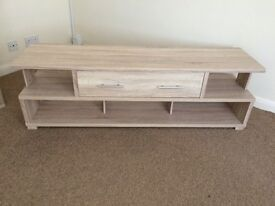 Modern TV cabinet as new