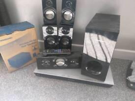 Panasonic Blu-ray surround sound system