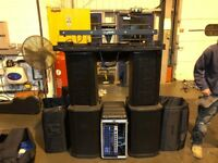 BOSE Pa System with Many Extras