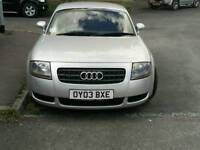 Audi TT Quattro 225 FSH MOT 08/17 Leather heated seats, Bose sound, 6 Sp, Great condition