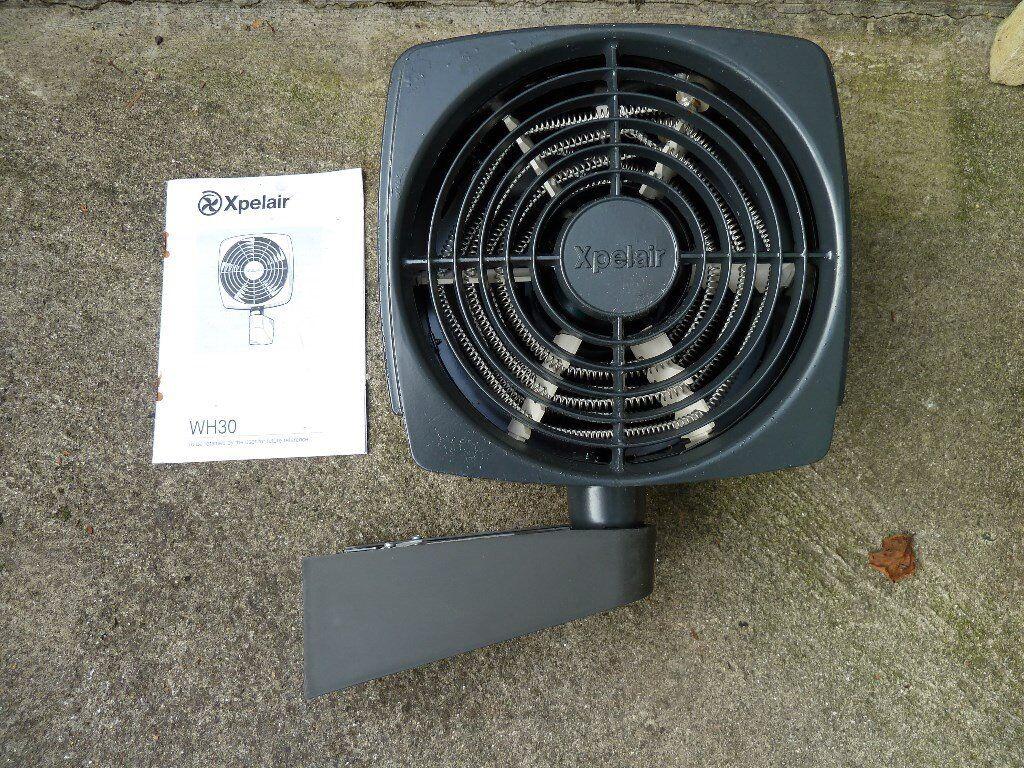 garage workshop wall mounted fan heater in saltash. Black Bedroom Furniture Sets. Home Design Ideas