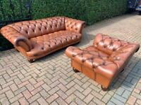 TETRAD OSKAR CHESTERFIELD SUITE SEE ADD FULL UK 🇬🇧 DELIVERY 🚚