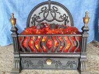 Cast Iron Imitation Hearth Coal Fire with Fan Heater