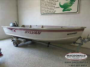 2007 Sylvan Sea Snapper 14 Ft with 20 HP Outboard