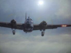Limited edition print Wellington Bomber by John Young