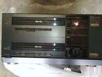 DUAL VHS RECORDER