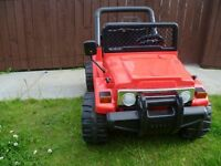 Kids Remote Controlled Ride/Sit in Quad