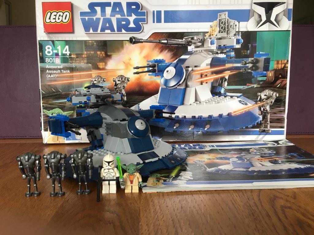 Lego Star Wars 8018 Armoured Assault Tank (ATT)