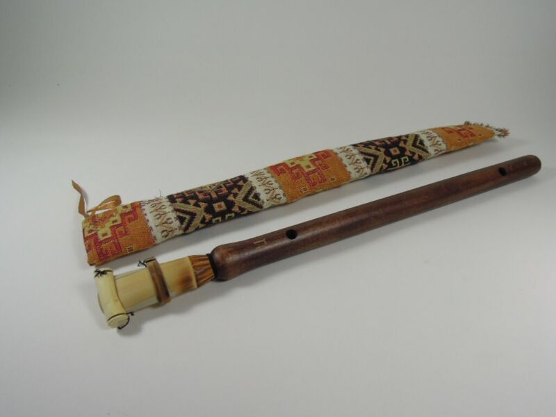 HAND MADE ARMENIAN PROFESSIONAL DUDUK APRICOT WOOD WITH REED & SOFT CASE