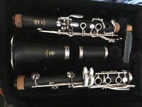 Yamaha Clarinet model 250 and case
