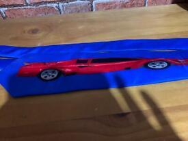 Vintage silk Ferrari sports car tie