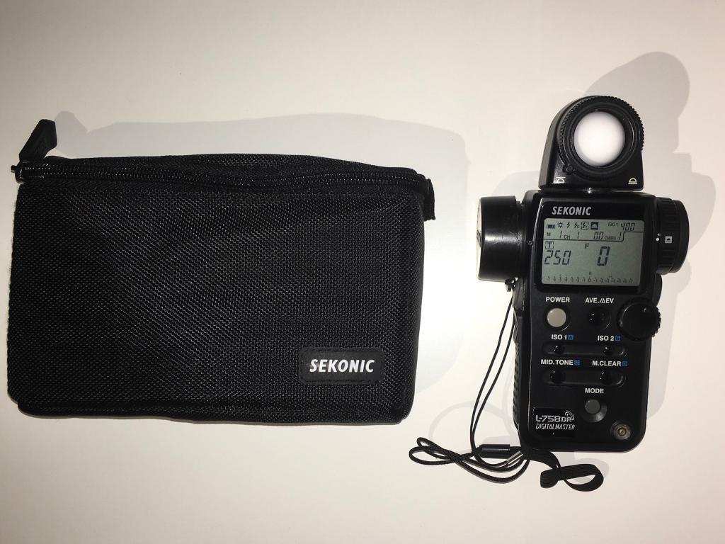 Sekonic L-758DR DigitalMaster Flash Meter Excellent condition