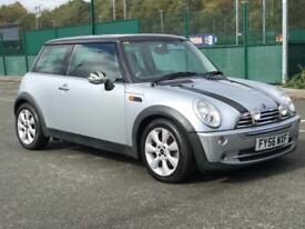 MINI COOPER 1.6 2006 * PETROL * ALLOYS *LEATHERS *LONG MOT *MINT *NATIONWIDE DELIVERY AVAILABLE *P/X