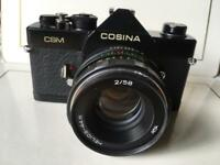 Cosina CSM SLR 35mm Film Camera