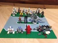 Lego mini figures bundle Star Wars