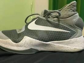 Basketball boots.