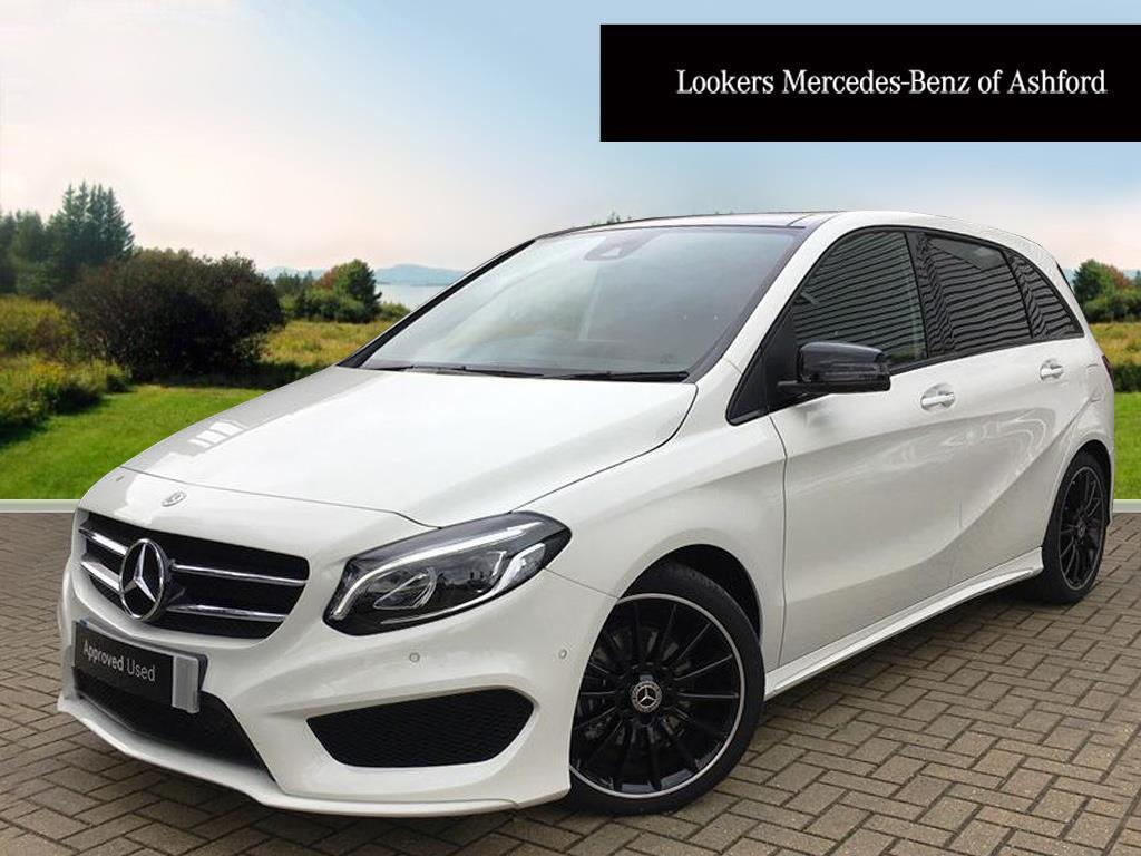 mercedes benz b class b 200 d amg line premium plus white. Black Bedroom Furniture Sets. Home Design Ideas