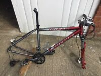 Carrera Kraken Frame and parts shown in picture.