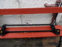 GENUINE VOLVO ROOF BARS to fit Volvo S60 / 2002 plate