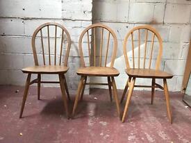 3 Ercol chairs