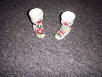 China miniature boots