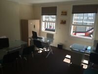 2 luxury offices located in central London (Earlscourt Kensington) fully furnished bills included.
