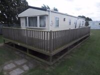 *JUNE £25 P/N*VERIFIED OWNER* CLOSE TO FANTASY ISLAND 8 BERTH CARAVAN LET/RENT/HIRE in INGOLDMELLS