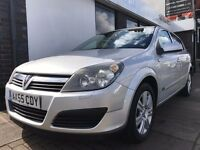 Vauxhall Astra 1.6 i 16v Active 5dr PARTS & LABOUR WARRANTY
