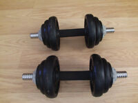 Fitness Dumbbell Weight Set - 20kg