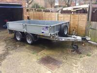 """Ifor Williams trailer 10' by 5'6"""""""