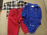 Ralph Lauren baby outfit