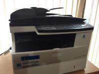 Konica Minolta Bizhub 190F Desk top Copier Scanner Fax machine