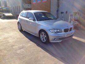 06 PLATE BMW 116I SPORT 5DR 60800MILES 6SPD £3650