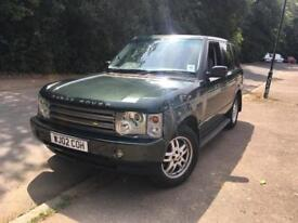 2002 Land Rover Range Rover Td6 Vogue SPARES OR REPAIRS GEARBOX FAULT