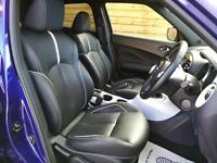 Nissan Juke 1.2 DiG-T Tekna 5dr FULL LEATHER/SAT NAV (ink blue metallic) 2014