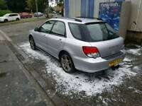 2003 impreza wagon sport sell swap