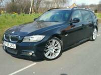 2010 BMW 330D M SPORT TOURER INDIVIDUAL*AUTO-PADDLESHIFTS*SAT NAV*HEATED LEATHER*XENONS*I-DRIVE#530D