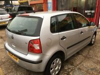 2004 VW POLO 1.4 AUTOMATIC SILVER 83 000 NEW MOT HPI CLEAR