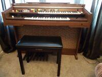 Yamaha Electone B-45 Electric Organ with Yamaha Stool