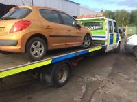 Scrap cars and vans wanted money paid 24 hr recovery