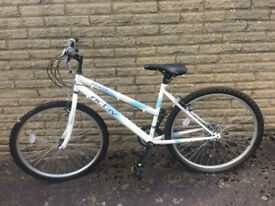 White Ladies Mountain Bike - Raleigh Activ Flyte II Rigid