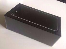 IPHONE 7 128GB Jet Black UNLOCKED BRAND NEW 12 Month APPLE WARRANTY & RECEIPT.