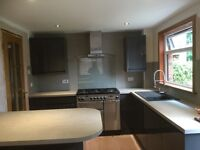 kitchen, bathrooms, joiners, kitchen fitting, builders and electricians. All trades 5* company