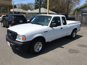 2011 FORD RANGER XL - ALLOYS, CD, A/C, TONNEAU COVER, TOW PKG, T