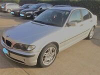 BMW 3 Series (320) Petrol including 11 months MOT and 4 new tyres