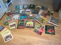 GARDENING BOOKS. A large selection of good quality gardening books.