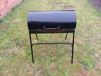 GRILL BBQ - Oil Drum Charcoal BBQ with Cover